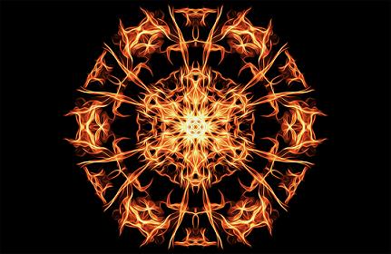 Pentagram fire