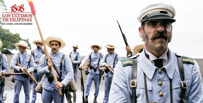 Soldiers during Siege of Baler movie
