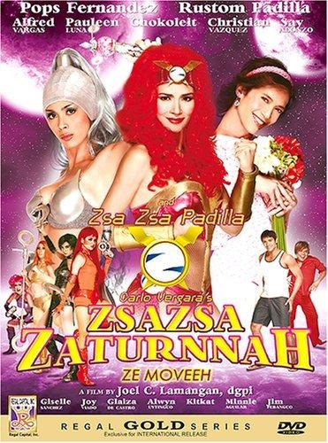 Zsazsa Zaturnnah ze moveeh poster